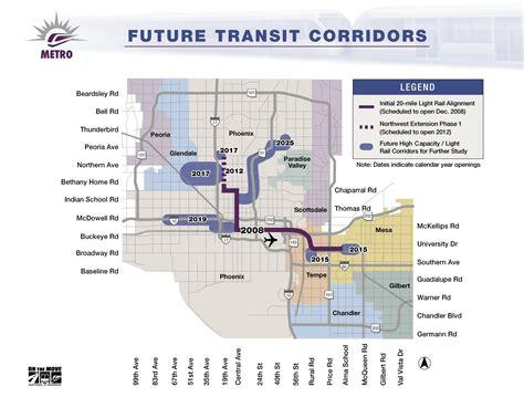 Metro Light Rail Schedule by Tempe Mesa Light Rail Grand Opening