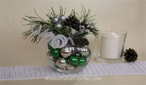 decoraci n navide a c mo hacer un rbol de navidad manualidades herme como hacer un centro de mesa navide 209 o