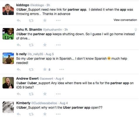 uber partner app for android uber partner app problems on iphone android product reviews net