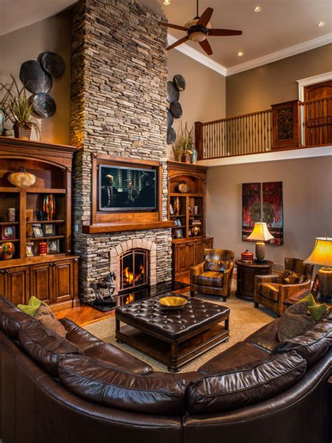 Rustic Living Room by 25 Rustic Living Room Design Ideas For Your Home