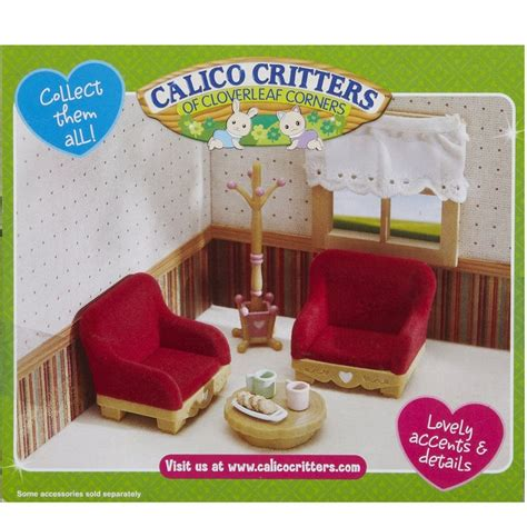calico critters living room calico critters country living room set educational toys planet