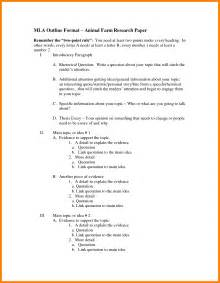 paper outline template research paper 6th grade outline