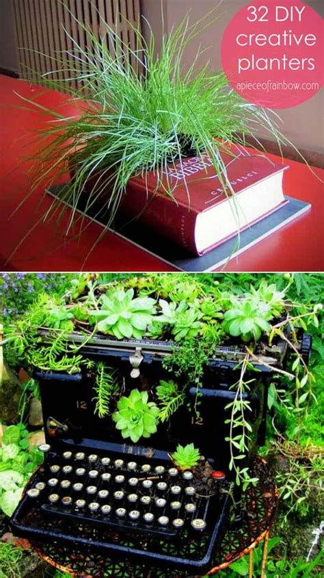 unique outdoor planters how to turn anything into a planter 32 creative diy