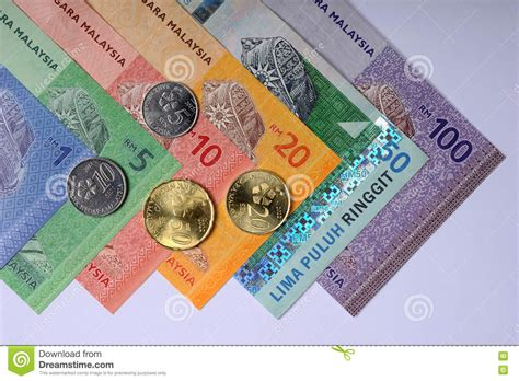 currency myr ringgit malaysia editorial image image of symbol negara