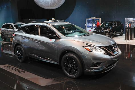 2017 nissan murano platinum black nissan brings special midnight edition package to six