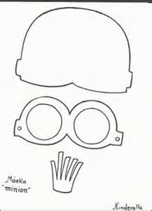 minion cutout template minion template on minion craft minion