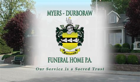 myers durboraw funeral home westminster md funeral home