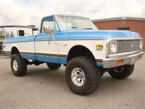 sell new 1971 chevy cheyenne 4x4 show truck in flintville
