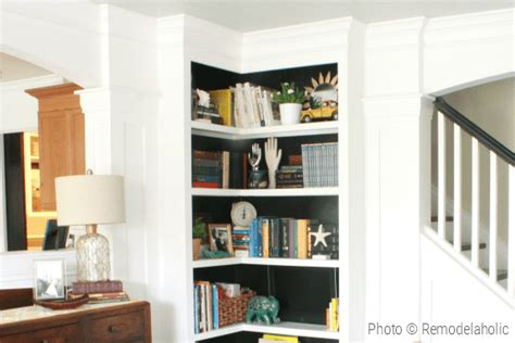 build   corner bookshelves