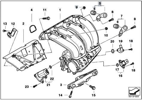 e46 parts diagram original parts for e46 316ti n42 compact engine intake