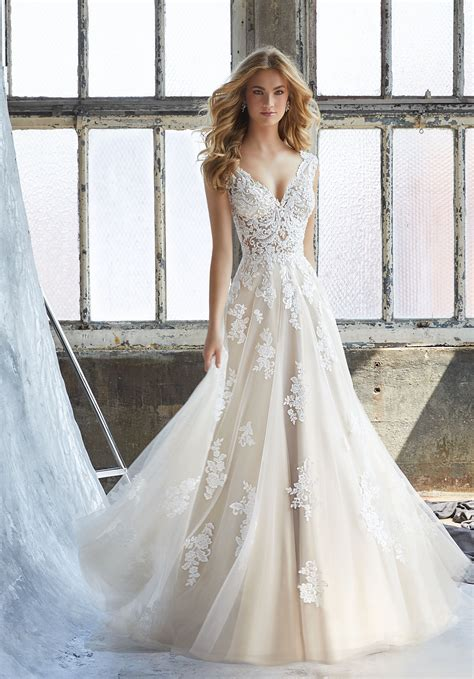 Wedding Dresses by Kennedy Wedding Dress Style 8206 Morilee