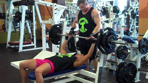 195 bench press kristy biles bench press 195 lbs youtube