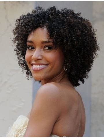 cute hairstyles for kinky hair cute short kinky curly lace front synthetic wig 14 inches