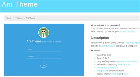 React Bootstrap Theme Phpsourcecode Net React Template