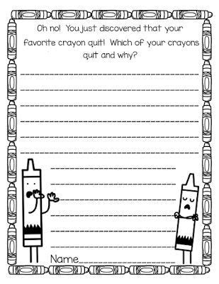 Best 52 The Day the Crayons Quit Activities ideas on