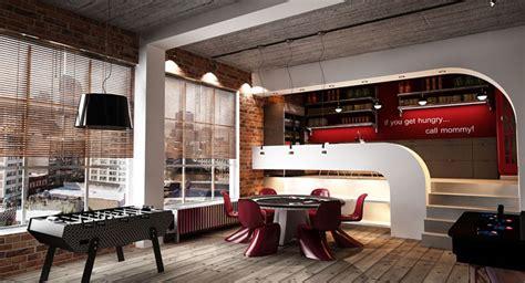 urban interior design urban loft interior design by george papos interiorzine