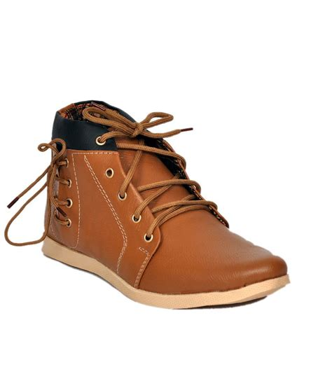 shoe mate synthetic leather boots buy shoe mate