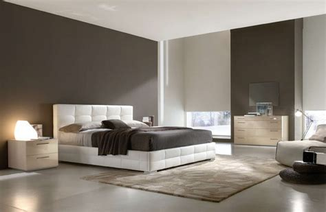 modern bedroom ideas with white leather bed home