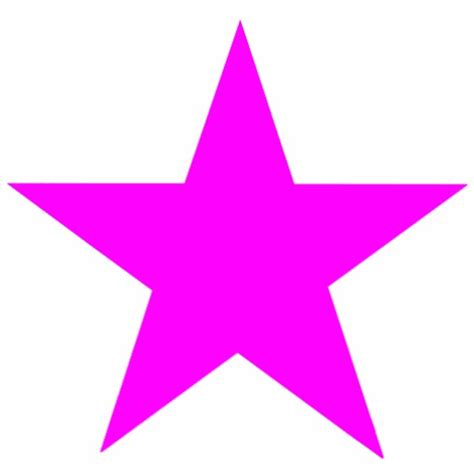 christmas ornaments star magenta cut out zazzle