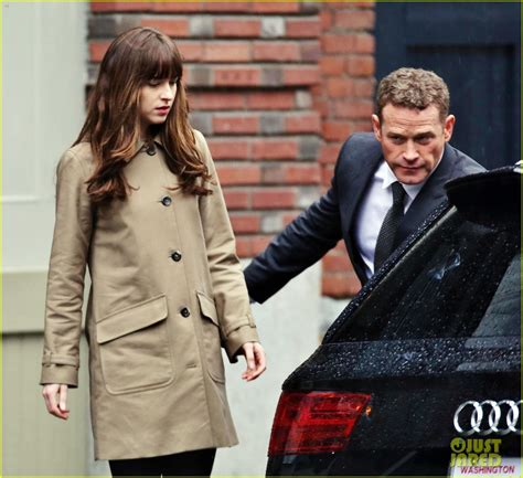 fifty shades darker filming video dakota johnson jamie dornan film another fifty shades