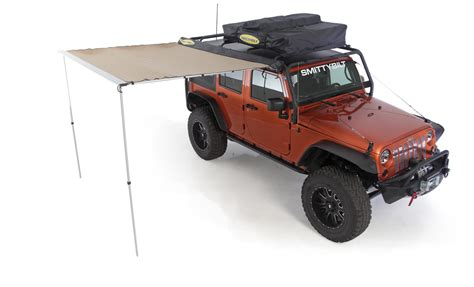 Wrangler Unlimited Roof Rack by Smittybilt 76717 Src Roof Rack In Textured Black For 07 17