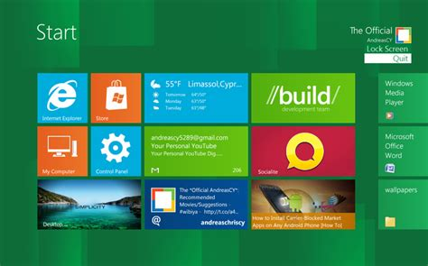 download themes for windows 8 start screen windows 8 start screen full download