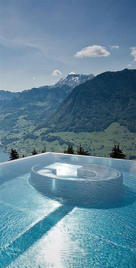 hermosa hoteles con en la villa honegg un lujoso hotel con la piscina con la vista