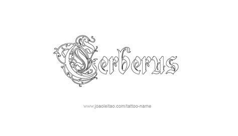 cerberus tattoo designs cerberus mythology name designs page 4 of 5