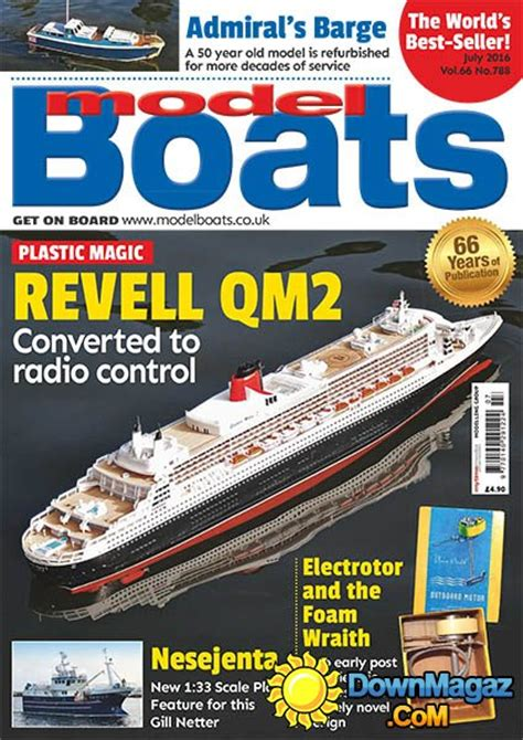 model boats july 2016 187 download pdf magazines - Model Boat Magazine Download