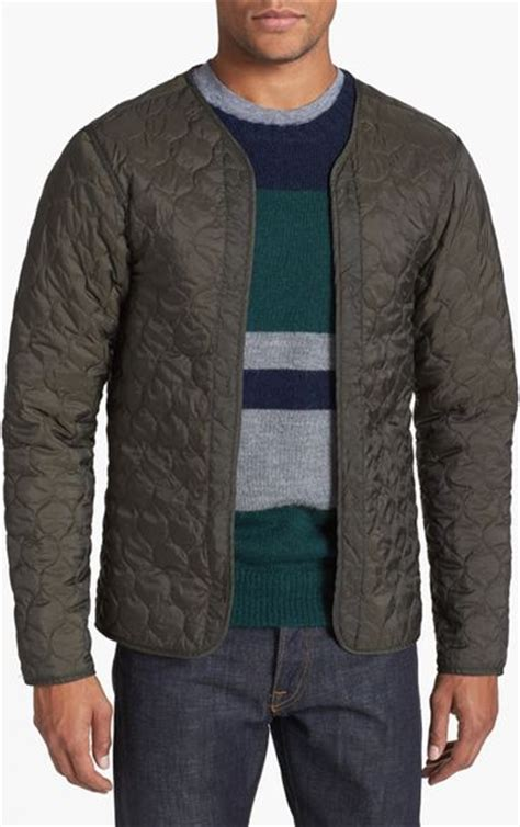 Quilted Jacket Liner by Scotch Soda Workwear Jacket With Removable Quilted Liner