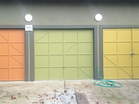 painted garage door how is berkeley painted garage doors