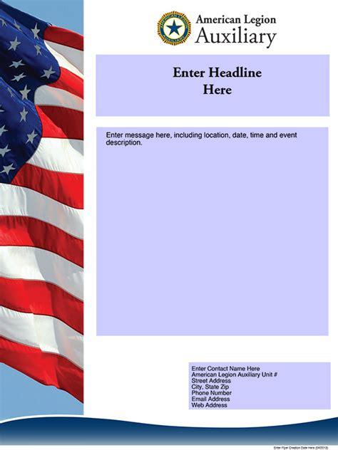 Login American Legion Auxiliary American Legion Newsletter Template