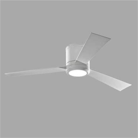 monte carlo clarity fan monte carlo clarity 52 in rubberized white ceiling fan