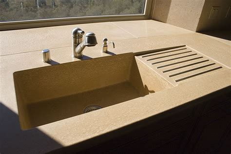 concrete kitchen sinks sonoma cast concrete sinks concrete kitchen sinks