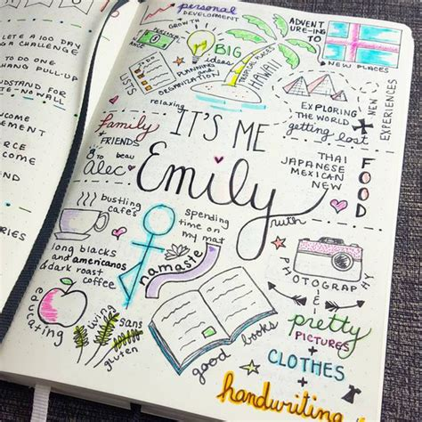doodle diary ideas 20 bullet journal page ideas that will make your