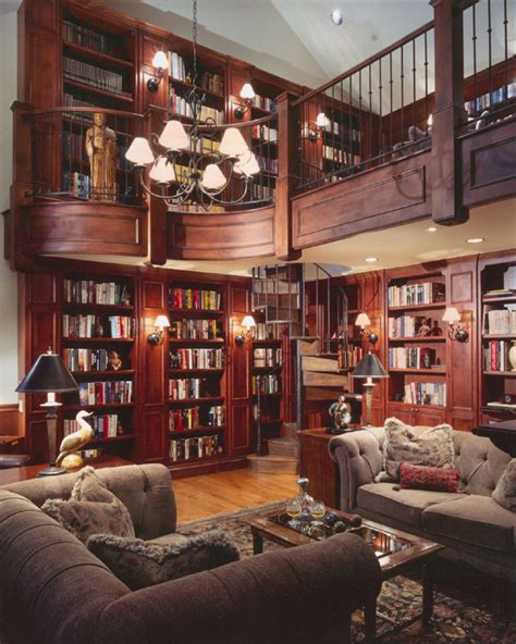 in home library a look at some 2 story home libraries homes of the rich