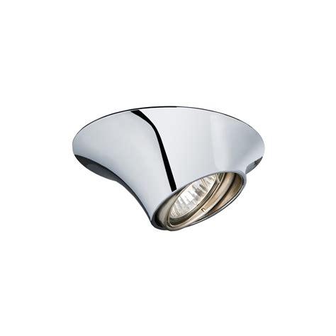 eglo lighting 89341 poli 1 light chrome recessed light