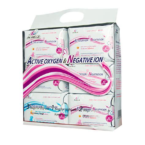 Tiens Airiz toallas higienicas airiz iones negativos tiens