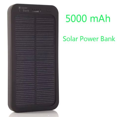 Power Bank Samsung Galaxy S 5000mah 5000mah portable mobile solar power bank battery backup