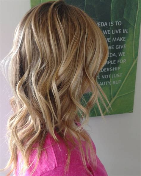 medium blonde highlights with lowlights aveda color long 1000 ideas about mermaid hair waves on pinterest long