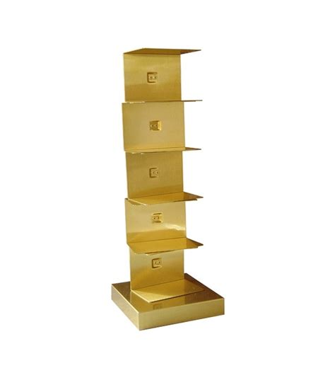 original ptolomeo gold opinion ciatti bookcase milia shop