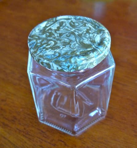 Decoupage Glass Jars - recycle glass jars decorative lids with decoupage how