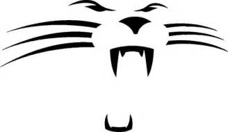 Logo Black Panther Outline by Panther Drawing Outline Clipart Best