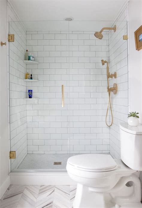 25 Decor Ideas That Make Small Bathrooms Feel Bigger Shower Designs For Small Bathrooms