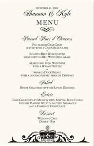 Ceremony Programs Wedding Wedding Menu Cards Vintage Monogram Menu Cards Special Event Menu Cards Wedding Reception Menu