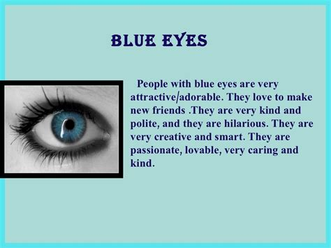 what does my eye color say about me what does your eye color say about you your
