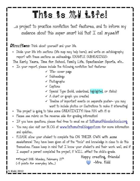 biography poster exle biography ideas ks2 best 25 autobiography project ideas on