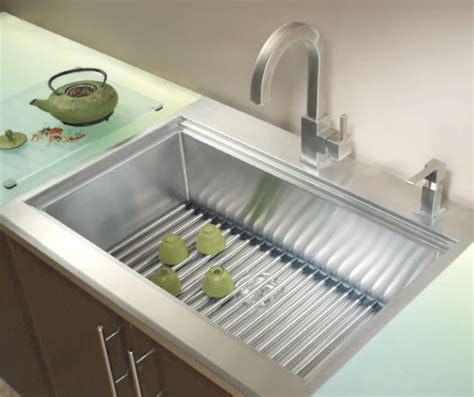 Kitchen Glass Mats Kindred Kitchen Sink Kcas33 10 With Roll Mat Glass Board