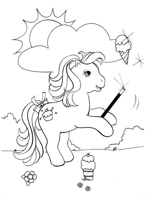 my pony painting pictures to colour my ponies