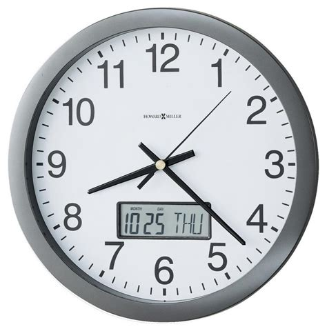 wall clock clockway 14in howard miller quartz wall clock chm2736